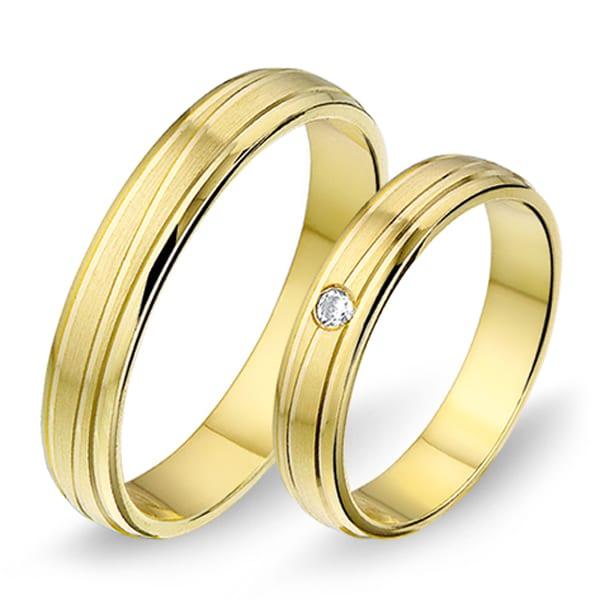 1403 - Alliance geelgouden trouwringen