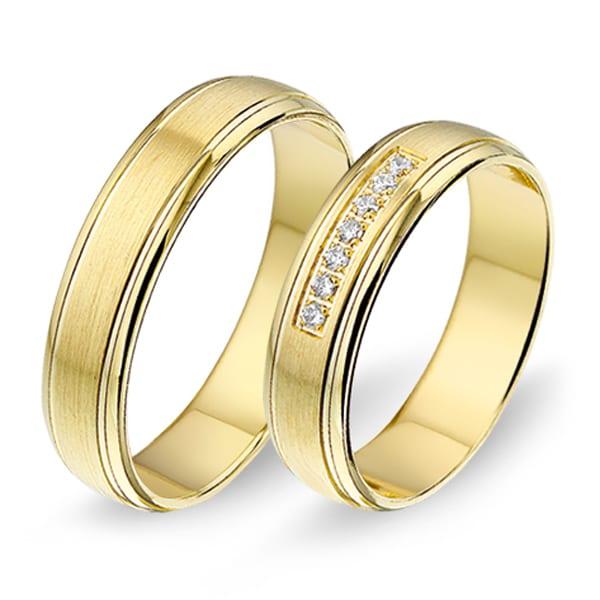 1407 - Alliance geelgouden trouwringen