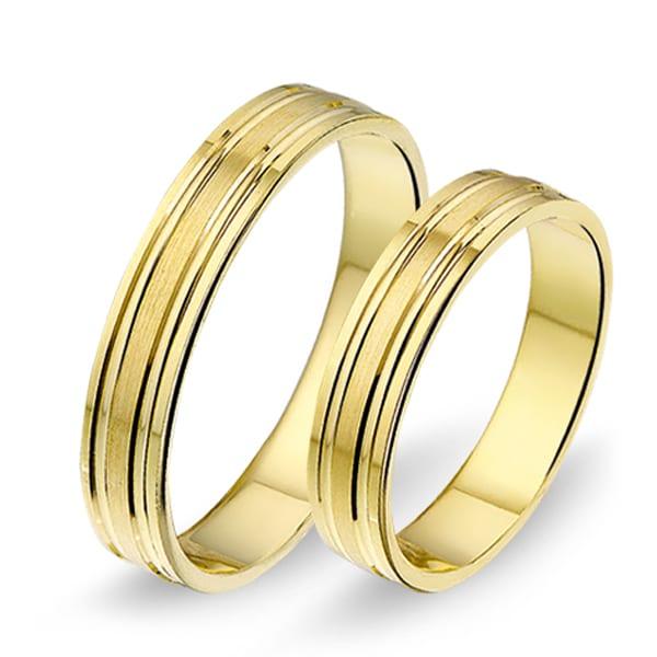 1408 - Alliance geelgouden trouwringen