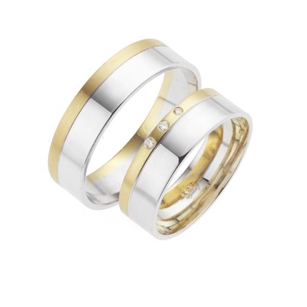 i216 - iChoose bi-color trouwringen