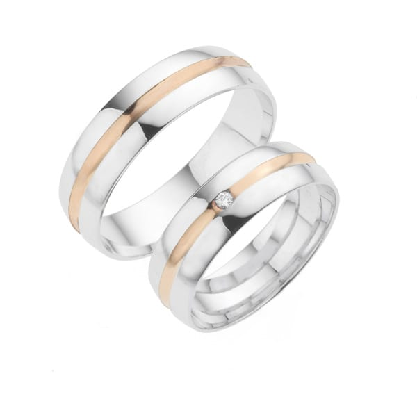 i316 - iChoose bi-color trouwringen