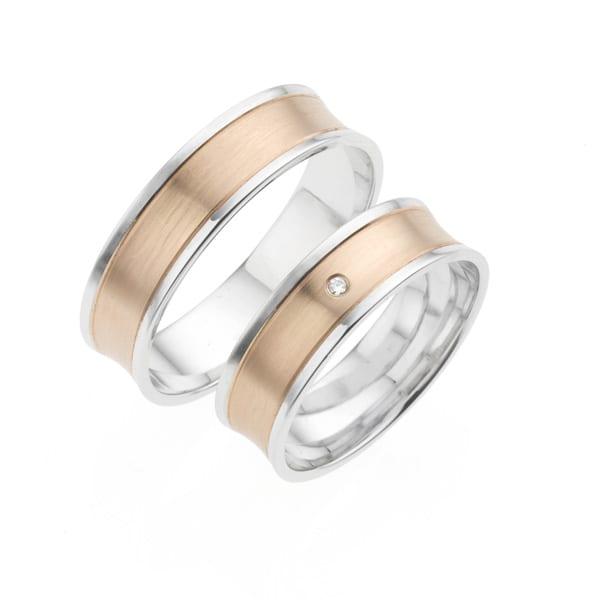 i416 - iChoose bi-color trouwringen