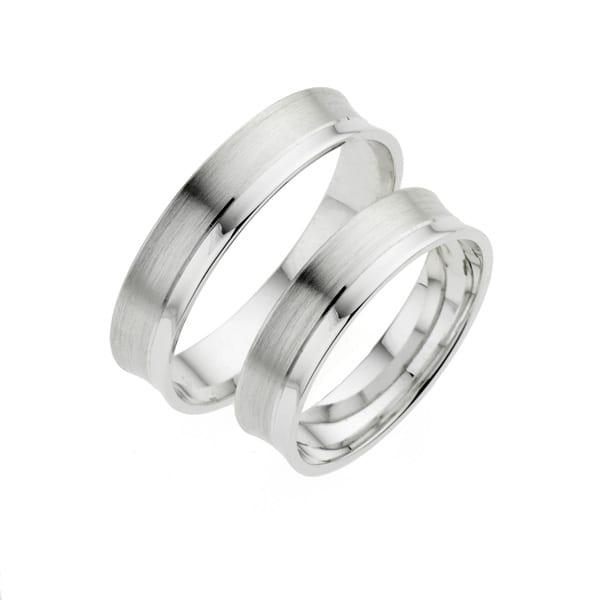 i435 - iChoose witgouden trouwringen
